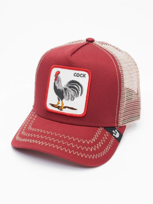 Goorin Bros. Trucker Caps Rooster red