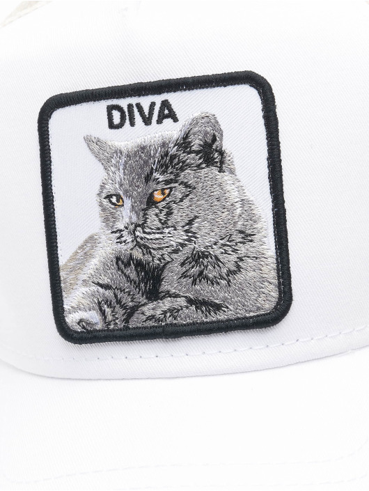 Goorin Bros. Verkkolippikset Diva Stance valkoinen