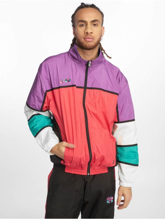 Grimey Wear Демисезонная куртка Brick Track пурпурный