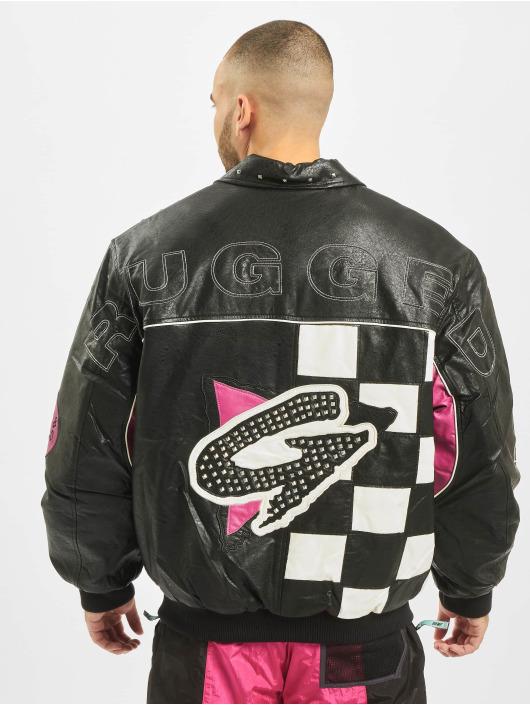 Grimey Wear Кожаная куртка Looter Cult PU черный