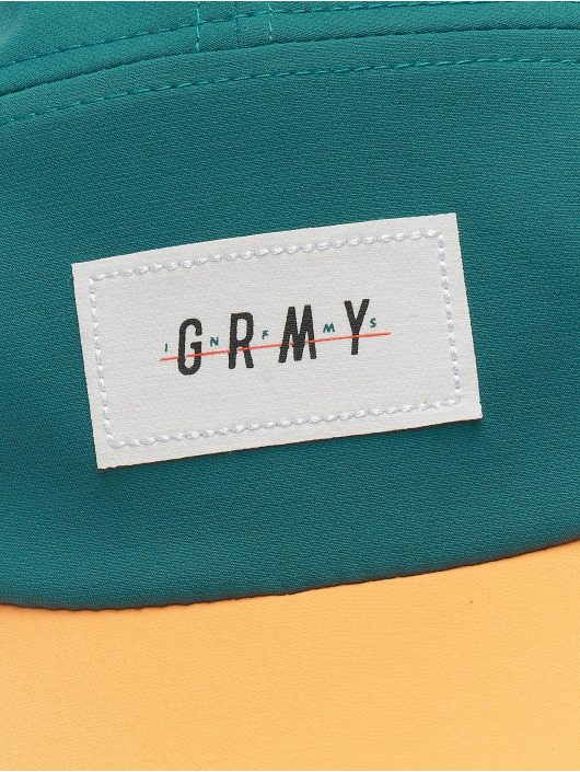 Grimey Wear 5 Panel Cap Midnight colored