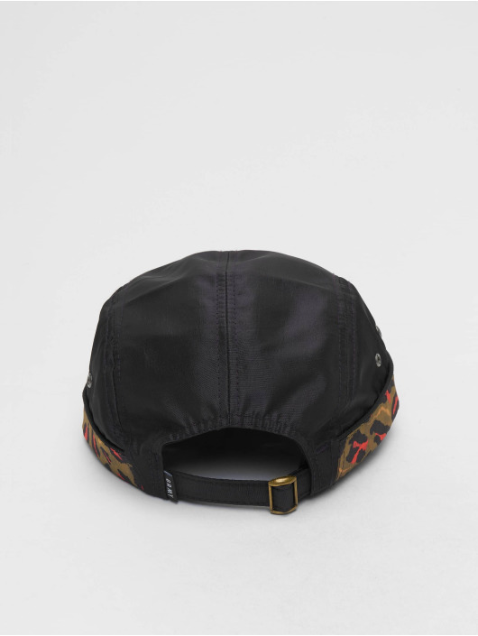 Grimey Wear 5 Panel Caps Midnight Leopard black