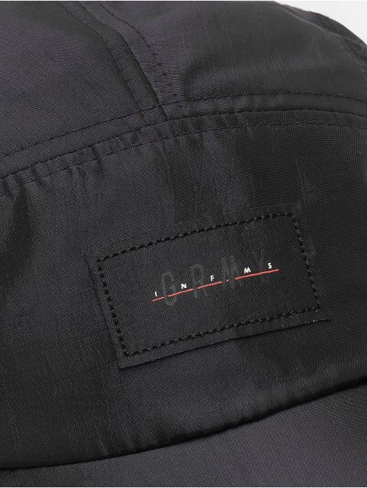 Grimey Wear 5 Panel Caps Midnight Leopard svart
