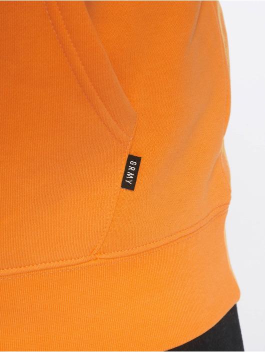 Grimey Wear Bluzy z kapturem Midnight pomaranczowy