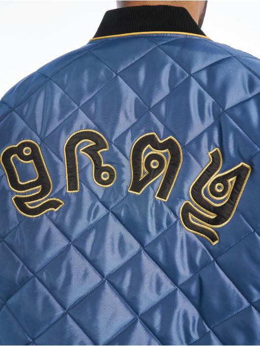 Grimey Wear Bomberjacke Transsiberian blau