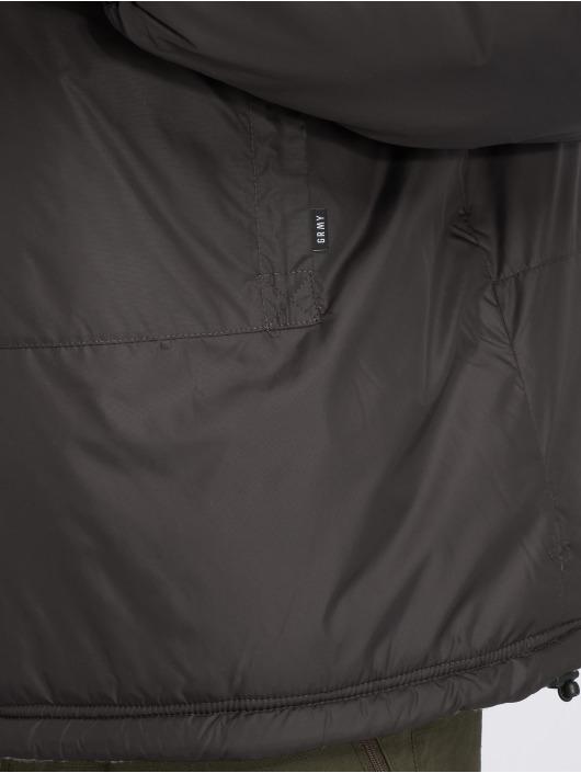 Grimey Wear Chaqueta de invierno GTO Heritage negro