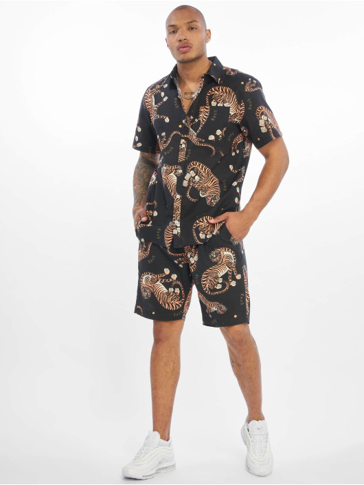 Grimey Wear Chemise Transsiberian Button Up noir