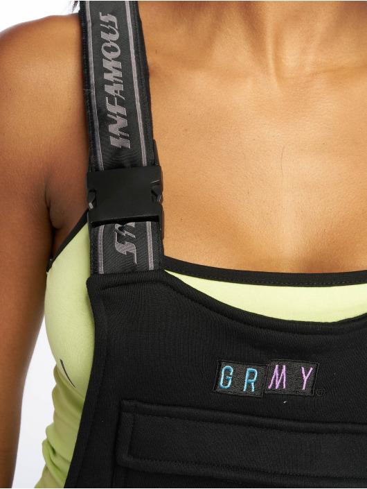 Grimey Wear Combinaison & Combishort Fluid Planet Girl noir