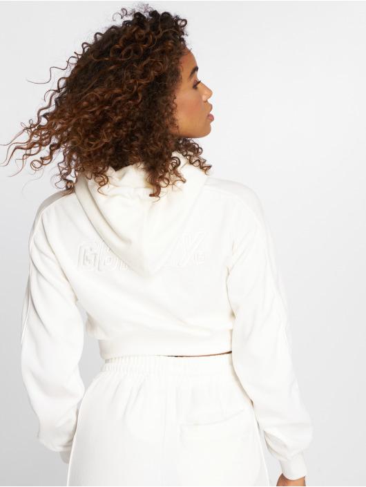 Grimey Wear Felpa con cappuccio Hazy Sun bianco