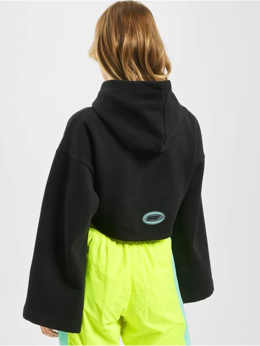 Grimey Wear Felpa con cappuccio Mysterious Vibes nero