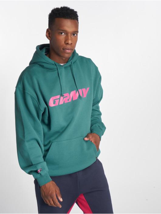 Grimey Wear Felpa con cappuccio Nemesis verde