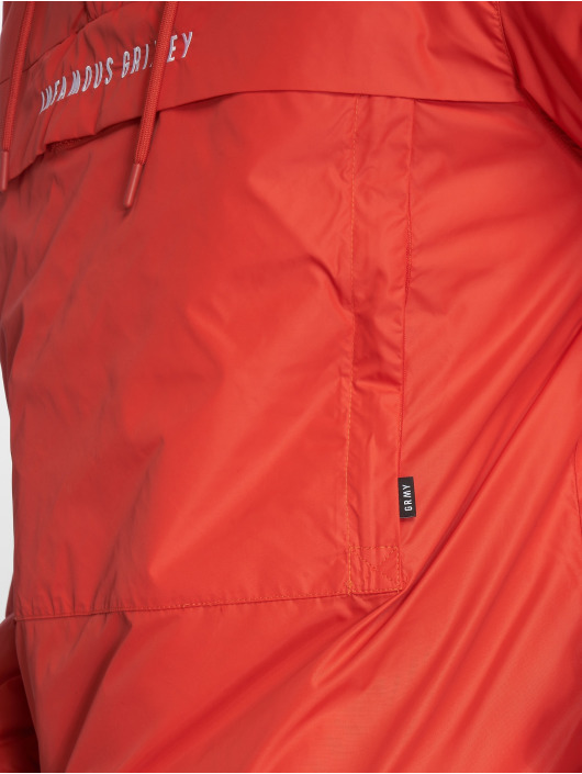 Grimey Wear Giacca invernale GTO Heritage Anorak rosso