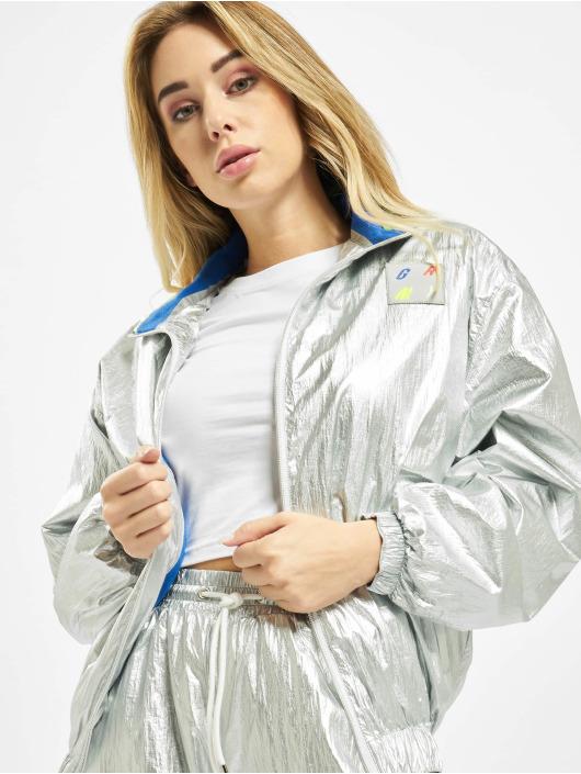 Grimey Wear Giacca Mezza Stagione Planete Noire argento