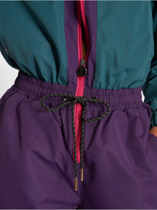 Grimey Wear Haalarit ja jumpsuitit GTO Heritage purpuranpunainen