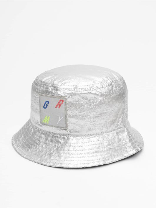 Grimey Wear Hat Planete Noire silver colored