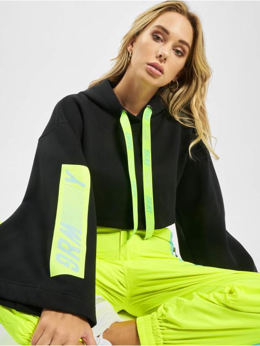Grimey Wear Hoodies Mysterious Vibes čern