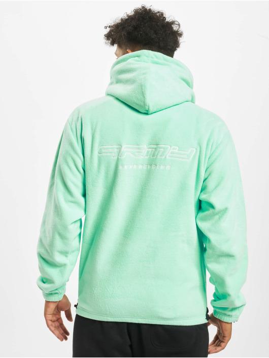 Grimey Wear Hoodies Sighting In Vostok Polar Fleece zelený
