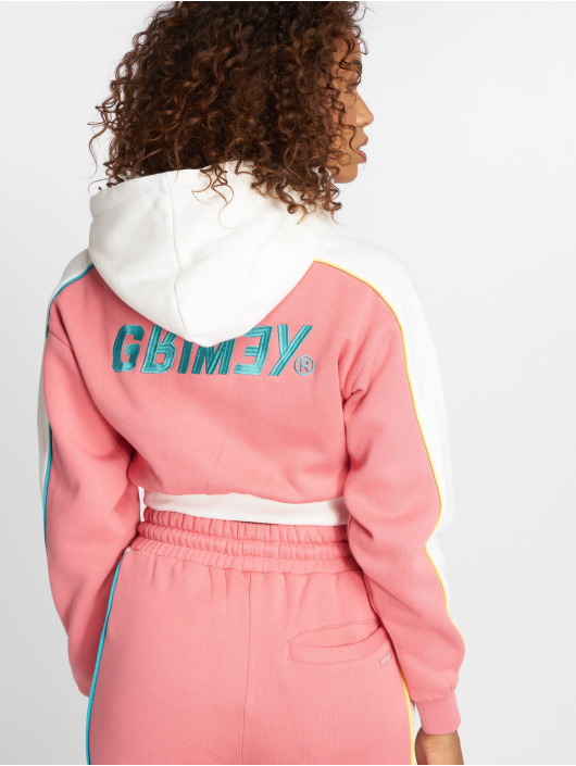 Grimey Wear Hupparit Hazy Sun vaaleanpunainen