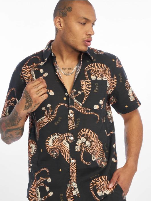 Grimey Wear Koszule Transsiberian Button Up czarny