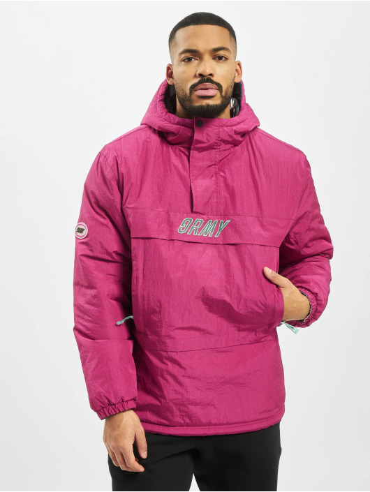 Grimey Wear Kurtki zimowe Mysterious Vibes Reversible pink