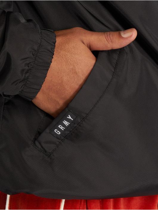 Grimey Wear Lightweight Jacket Ten Stab Wounds Coach black