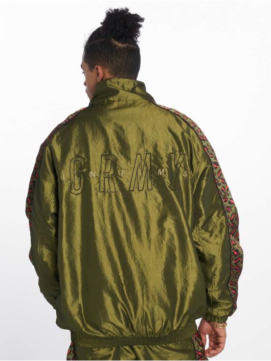 Grimey Wear Lightweight Jacket Midnight green