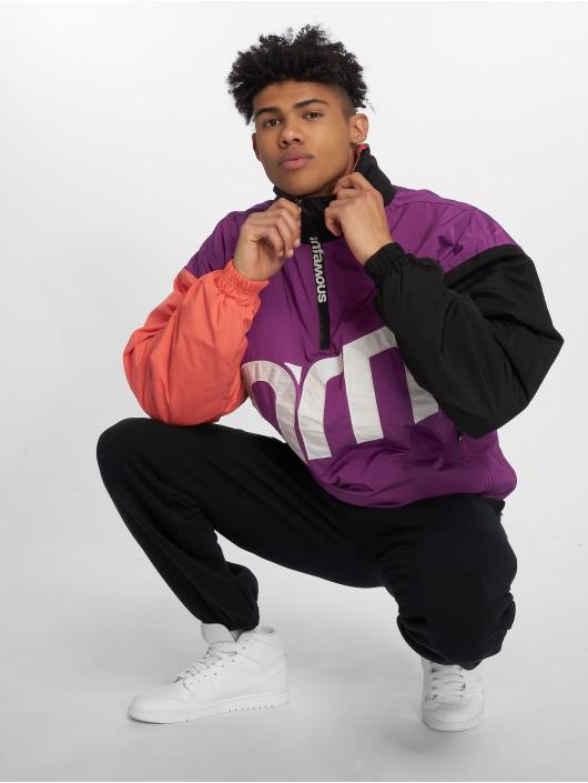 Grimey Wear Lightweight Jacket Flamboyant purple