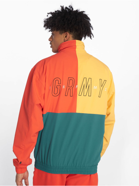 Grimey Wear Lightweight Jacket Midnight red