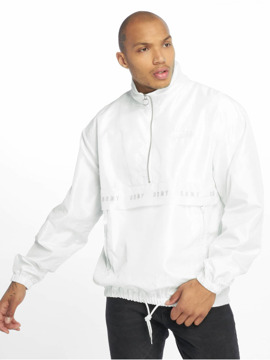Grimey Wear Lightweight Jacket F.A.L.A. Chameleon white