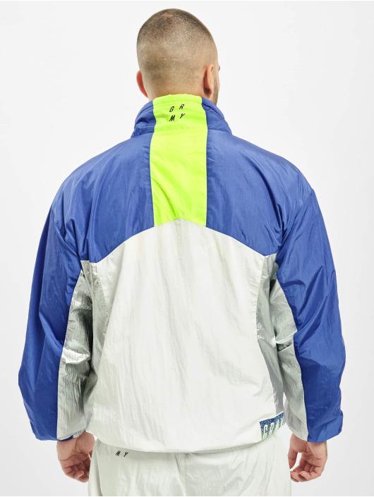 Grimey Wear Lightweight Jacket Planete Noire Silvern white