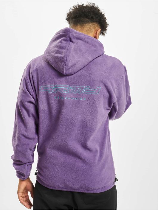 Grimey Wear Mikiny Sighting In Vostok Polar Fleece fialová