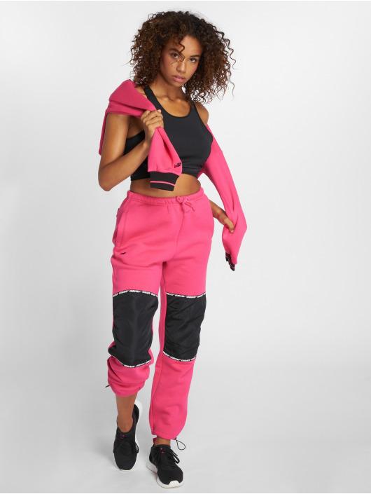 Grimey Wear Pantalón deportivo Nemesis fucsia