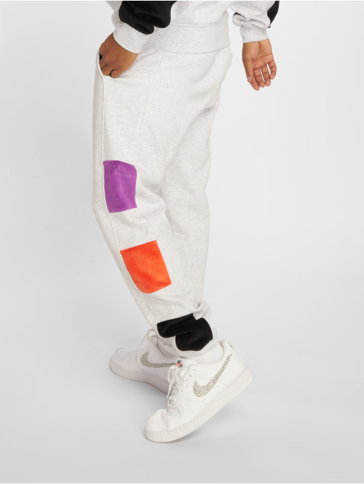 Grimey Wear Pantalone ginnico Flamboyant bianco
