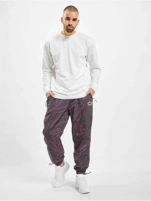 Grimey Wear Pantalone ginnico Mysterious Vibes nero
