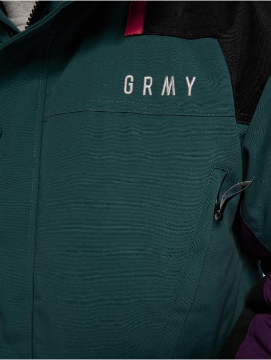 Grimey Wear Parkatakki Pantera V8 vihreä