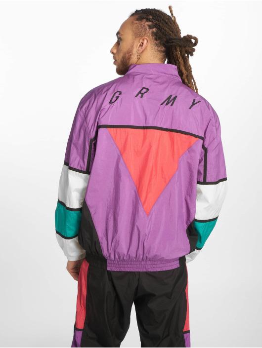 Grimey Wear Prechodné vetrovky Brick Track fialová