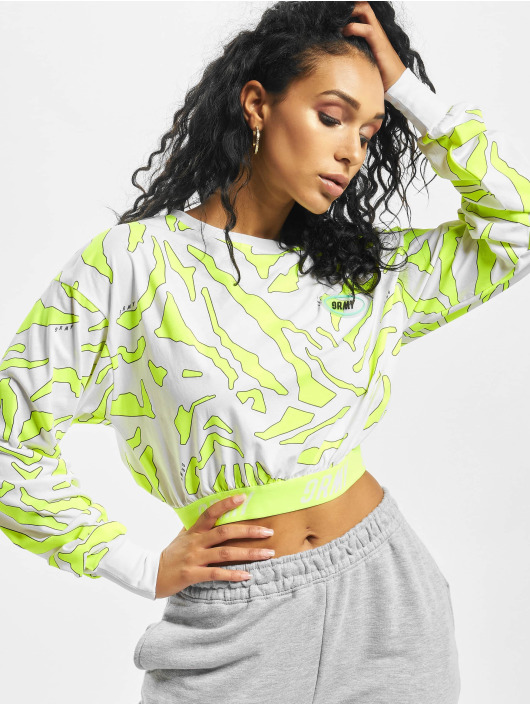 Grimey Wear Pullover Mysterious Vibes Long Sleeve white