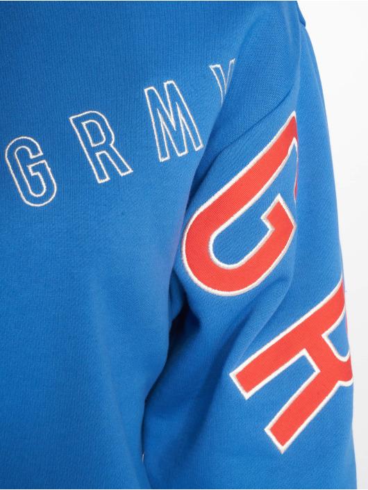 Grimey Wear Pulóvre F.a.l.a. Crewneck modrá