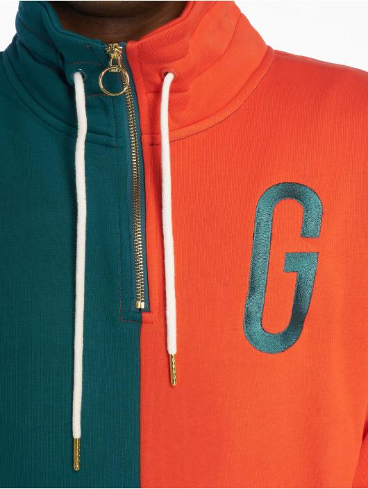 Grimey Wear Pulóvre Midnight G Logo zelená