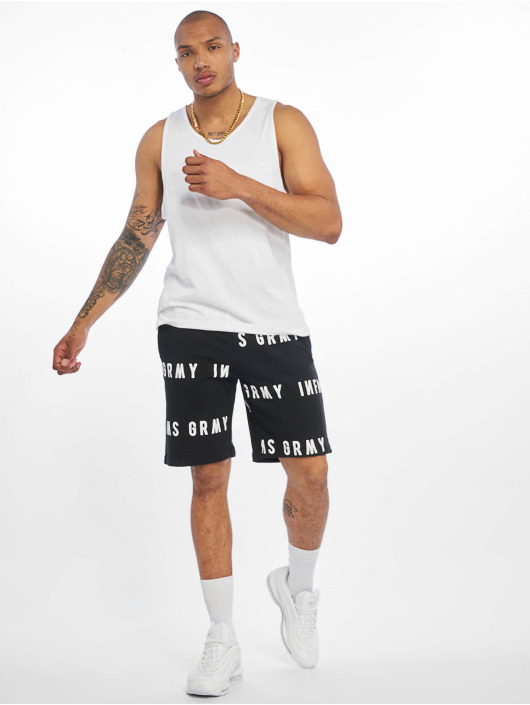 Grimey Wear Short Sober Heritage black
