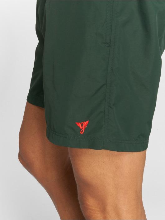 Grimey Wear Short de bain Heritage vert