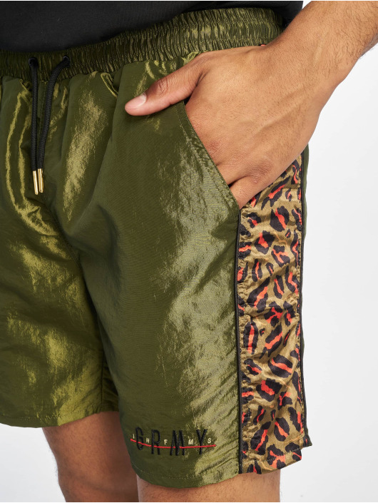 Grimey Wear Short Midnight Chameleon vert