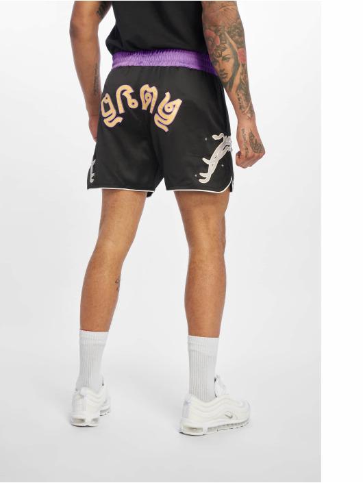 Grimey Wear Shorts La Sombra schwarz