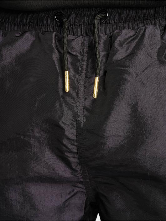 Grimey Wear Shorts Midnight Chameleon schwarz