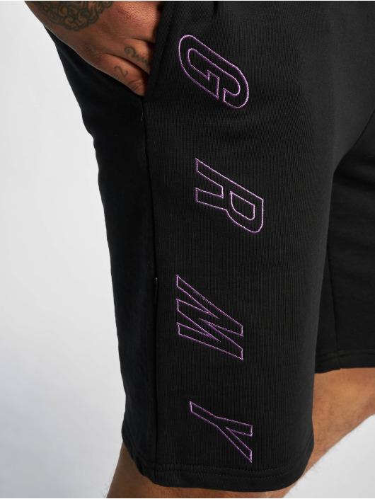 Grimey Wear Shorts Brick schwarz