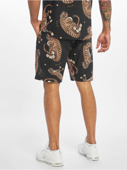 Grimey Wear Shorts Trans-Siberian Light svart