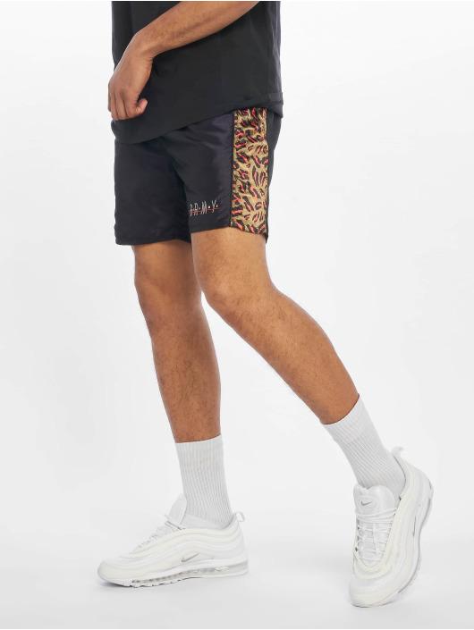 Grimey Wear Shorts Midnight Chameleon svart