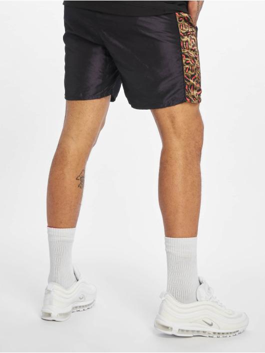 Grimey Wear shorts Midnight Chameleon zwart