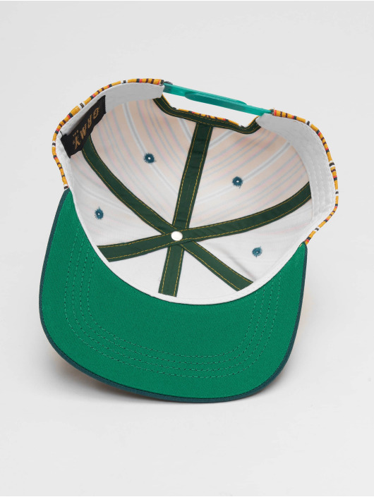 Grimey Wear Snapback Cap Wild Child Printed green