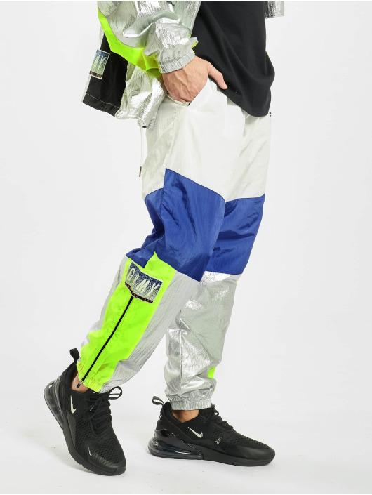Grimey Wear Spodnie do joggingu Planete Noire bialy